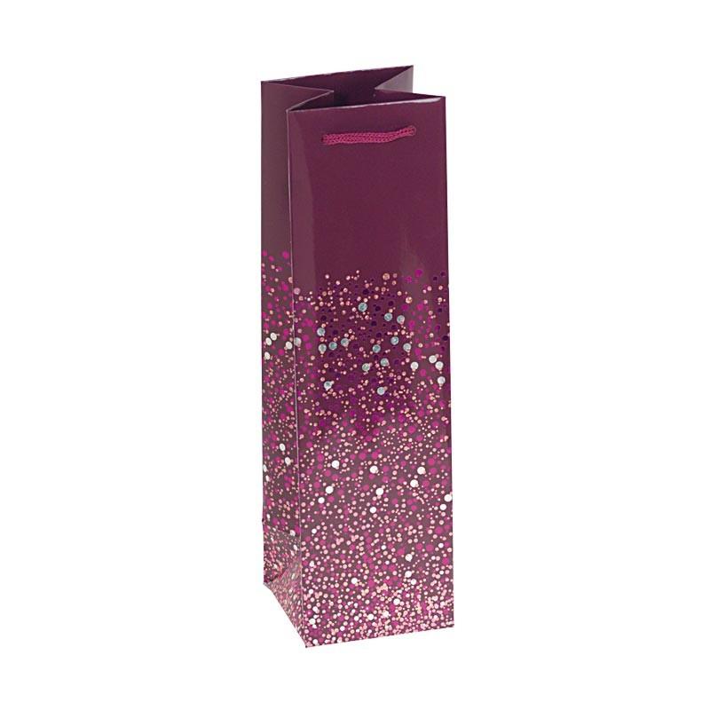 Packaging de luxe pour chocolatiers, pâtissiers et confiseurs - Sac bouteille Happy Confettis