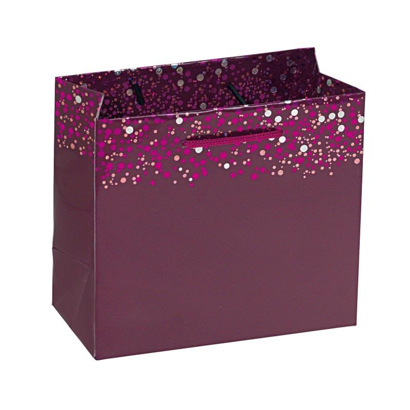 Packaging de luxe pour chocolatiers, pâtissiers et confiseurs - Sac cabas Happy Confettis