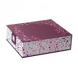 Packaging de luxe pour chocolatiers pour panier garni - Pagnol Happy Confettis