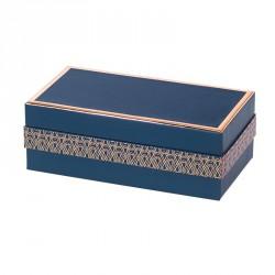 Packaging bleu et or rosé pour chocolatiers, pâtissiers, confiseurs - Balzac Madison