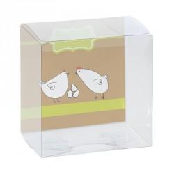 Packaging alimentaire chocolatiers - Zeus Poule Joyeuses Pâques