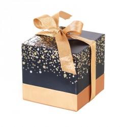 Emballage alimentaire cubique pour chocolatier - Baudelaire Paillettes