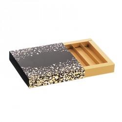 Emballage alimentaire pour chocolatiers pâtissiers et confiseurs - Molière fourreau Paillettes