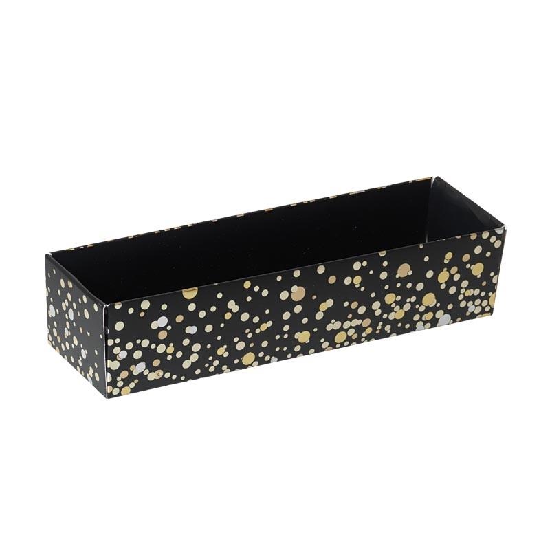 Packaging alimentaire de luxe pour pâtissiers - Boîte macarons Paillettes