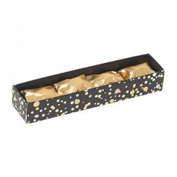 Emballage alimentaire de luxe - Réglette pour Marrons glacés Paillettes