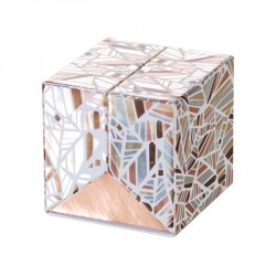 Emballage alimentaire de luxe cubique - Baudelaire Champagne Rythmique