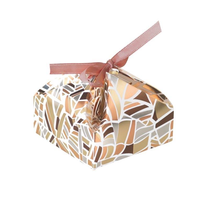 Packaging alimentaire de luxe, petit contenant - Victorine Champagne Rythmique