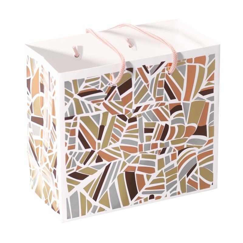 Packaging pour artisans chocolatiers - Sac cabas Champagne Rythmique