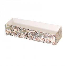 Packaging pour artisans pâtissiers, Boîte 6 macarons Champagne Rythmique