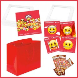 Kit de packaging alimentaires Emoji