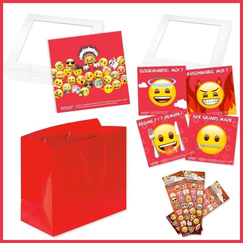 Kit de packaging alimentaires Emoji