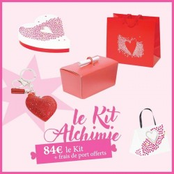 Kit Alchimie - Packaging saint Valentin