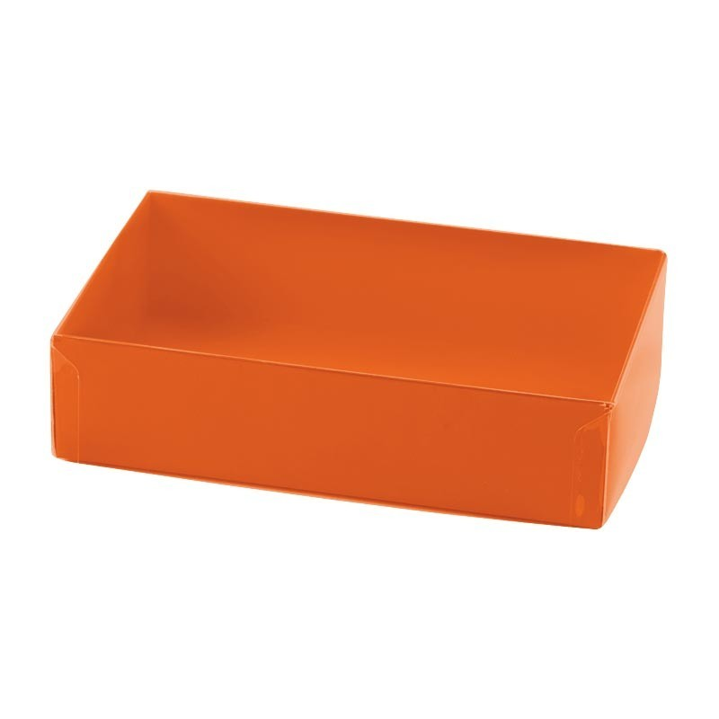 Boîte macarons Orange