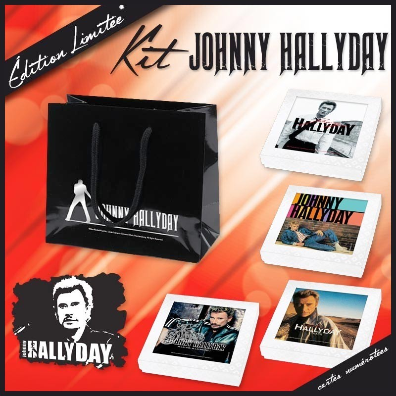 Embaline - emballage alimentaire - Kit Johnny hallyday
