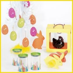 Kit Jeu Vichy - Packaging alimentaire pour chocolatiers à Pâques