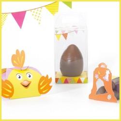 Kit Mixons les couleurs - Packaging pour chocolatiers / Vitrine Pâques