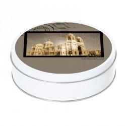 Boîte ronde métallique Caméléon A-12 - Notre Dame de la Garde