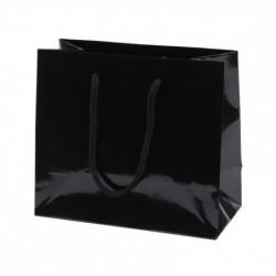 Sac cabas Noir Brillant