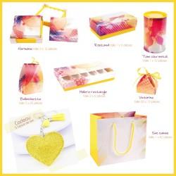 Ensemble d'emballages alimentaires pour l'été - Kit Evanescence