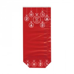 Sachet Joyeux Noël pour confiseurs, pâtissiers ou chocolatiers