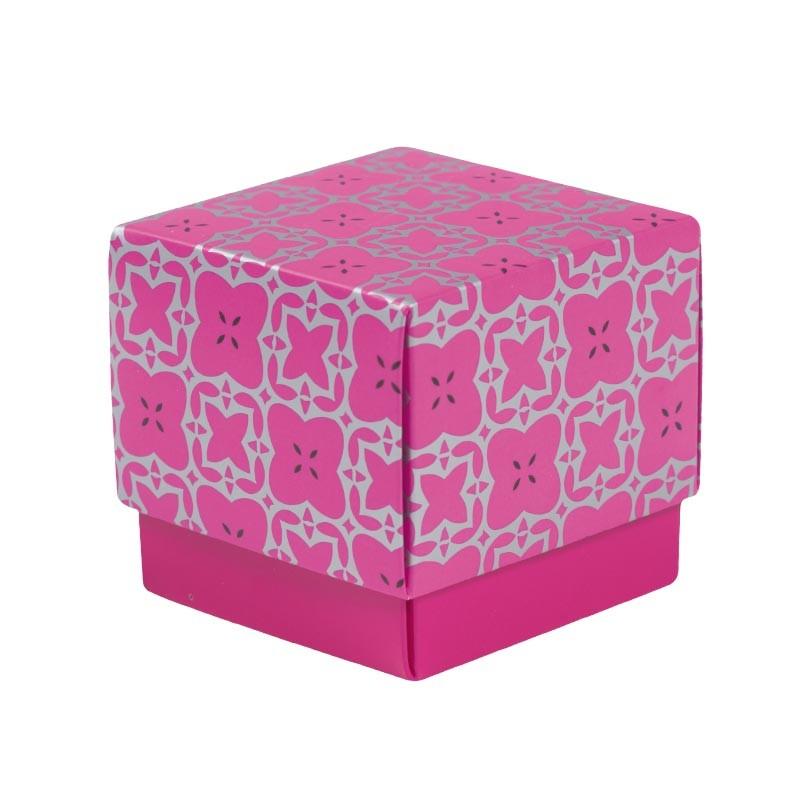 Déstockage packaging - Boîte cube pour chocolats - Baudelaire Élégance