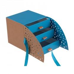 Déstockage packaging boîte cube à compartiments - Cyrano Curaçao