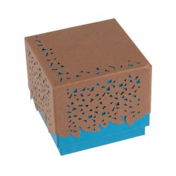 Déstockage packaging - Boîte cubique pour choco - Baudelaire Curaçao