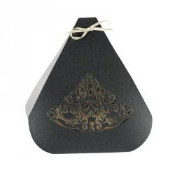 Achat packaging luxe pour chocolatiers - Fourreau Pompadour pour Yoko