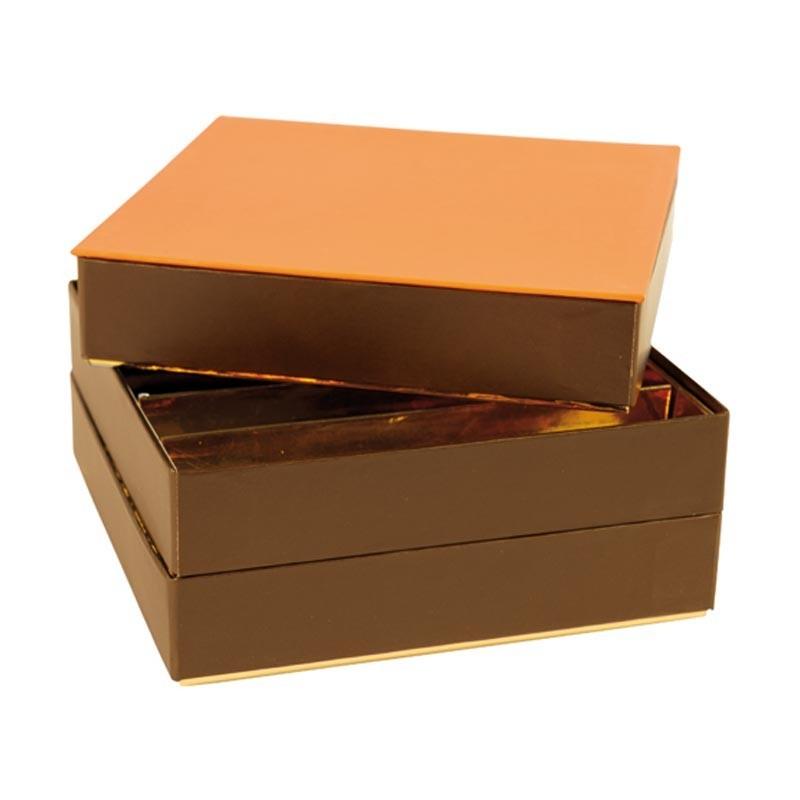 Boîte empilable Orange