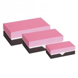 Promotion Packaging - Boîte à gorge Rose et Noire - Balzac Régllisse
