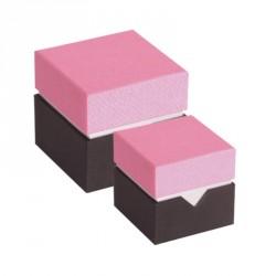 Déstockage packaging - Boîte cube pour chocolat - Baudelaire Réglisse