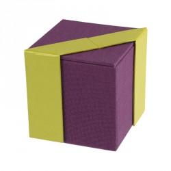 Déstockage packaging - Boîte cubique pour chocolats - Baudelaire Oxalis