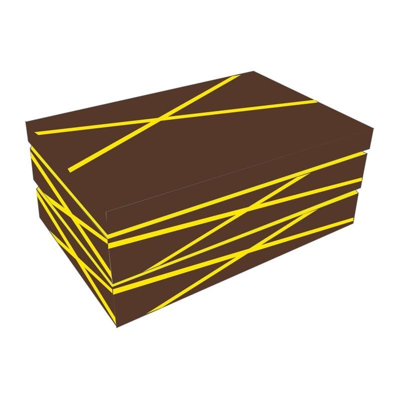 Boîte empilable Inaé Chocolat