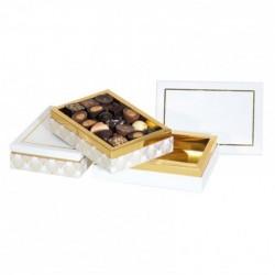 Boîte empilable Inaé Feuilles d'Or