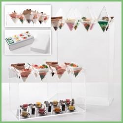Kit Cocktail - Présentation originale pour vos produits traiteur