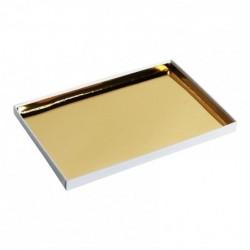 Couvercle Boîte empilable Inaé Feuilles d'Or