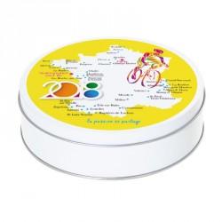 Boîte métallique Caméléon I-14 - Illustration Tour de France 2018