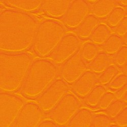 Ballotin auto orange embossé