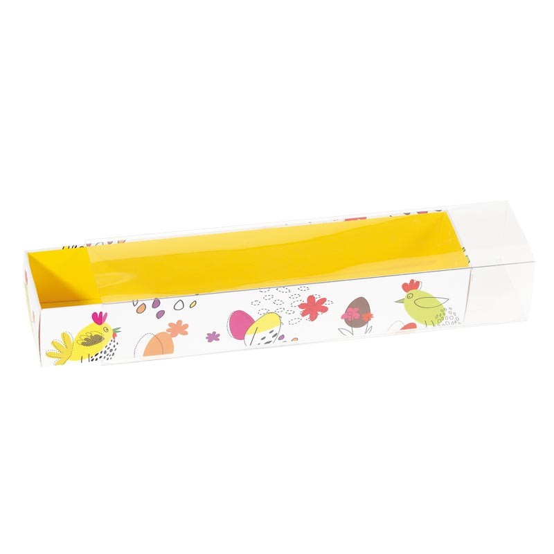 """Réglette """"Les Aventures des Jacquotte"""" - Packaging pour œufs de Paques"""