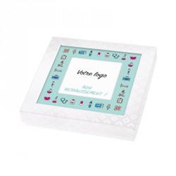 Packaging personnalisé pour souhaiter un bon rétablissement - Boîte Caméléon I-49