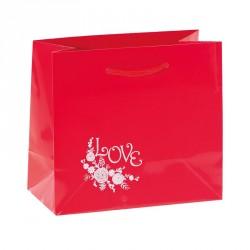 """Sac Rouge illustration """"Lov' Forever"""" - Packaging de luxe St Valentin"""