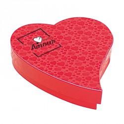 Boîte Cœur Goutte Besoin d'Amour - Packagings chocolats Saint Valentin