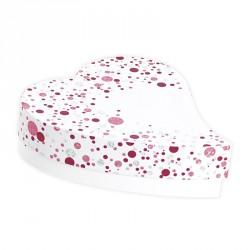 Boîte Cœur Goutte Diamant - Packaging Saint-Valentin pour Confiseurs