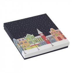 Packaging de luxe pour chocolatiers, pâtissiers et confiseurs - Molière Santa Claus