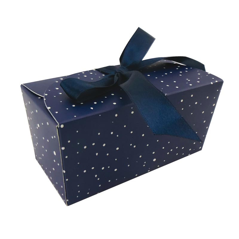 Packaging chocolatiers - Ballotin Ruban Santa Claus - Phosphorescent !