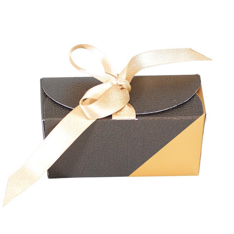 Packaging de luxe pour chocolatiers exigeants - Ballotin Ruban Écrin