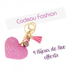 4 bijoux de sac offerts - Cadeau fashion !