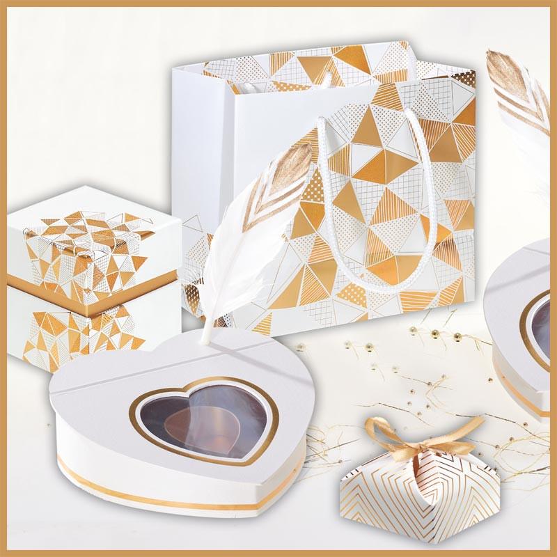 Kit Plumette - Ensemble de packagings pour chocolats - Fête des mamans