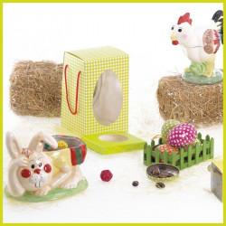 Kit Campagne - Gamme de Packagings clé en main pour chocolatier Pâques