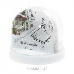 Boule à Neige Caméléon - Packaging personnalisable avec carte B-12